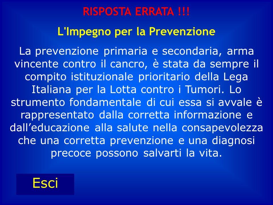 Prevenire è meglio che… D : Studiare C : Curare