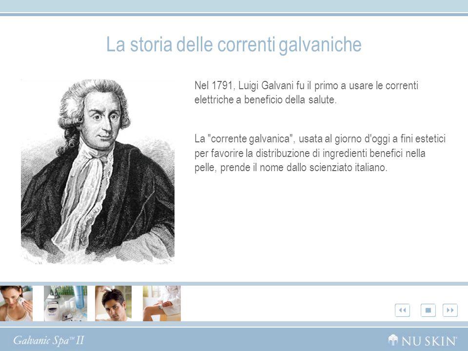 Nel 1791, Luigi Galvani fu il primo a usare le correnti elettriche a beneficio della salute. La
