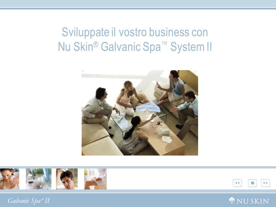 Sviluppate il vostro business con Nu Skin ® Galvanic Spa System II