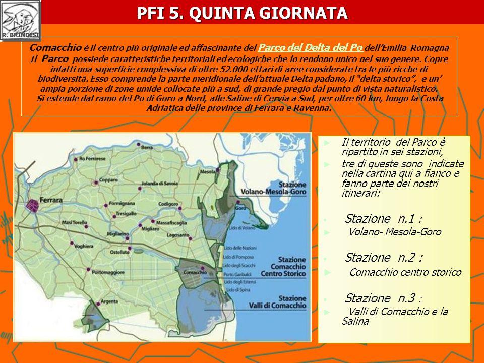 Comacchio è il centro più originale ed affascinante del Parco del Delta del Po dellEmilia-Romagna Il Parco possiede caratteristiche territoriali ed ec