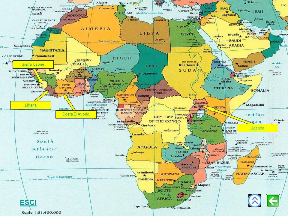 Sierra Leone Uganda Liberia Costa DAvorio ESCI