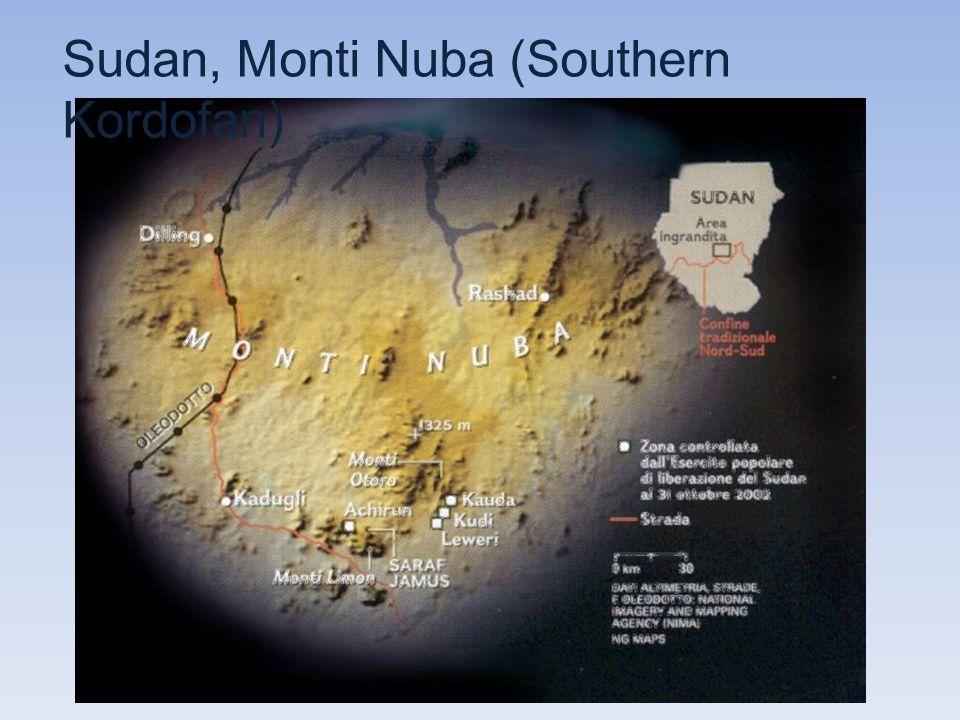 Sudan, Monti Nuba (Southern Kordofan)