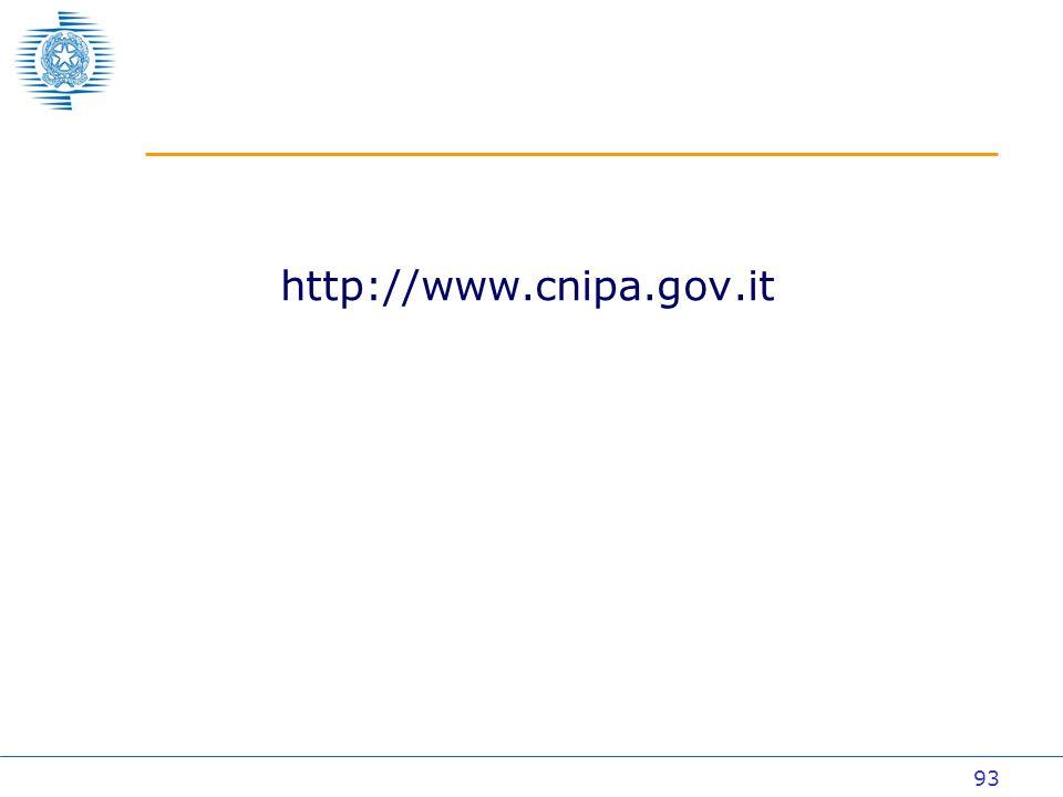 93 http://www.cnipa.gov.it