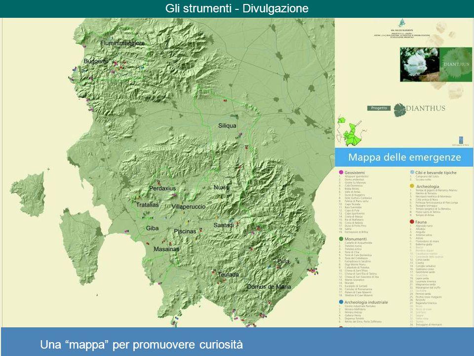 Gli strumenti - Divulgazione Una mappa per promuovere curiosità
