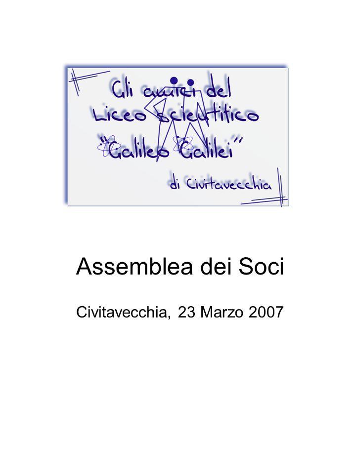 Assemblea dei Soci Civitavecchia, 23 Marzo 2007
