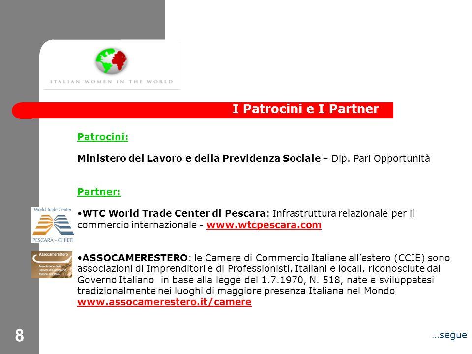 9 CIIM Canada: alla Confederazione di Imprenditori Italiani nel Mondo aderiscono Imprenditori e Managers di alto livello, Italiani e di origine italiana, che risiedono e/o hanno la sede della propria attività allestero e che, tuttavia, si riconoscono nel sistema imprenditoriale Italiano.