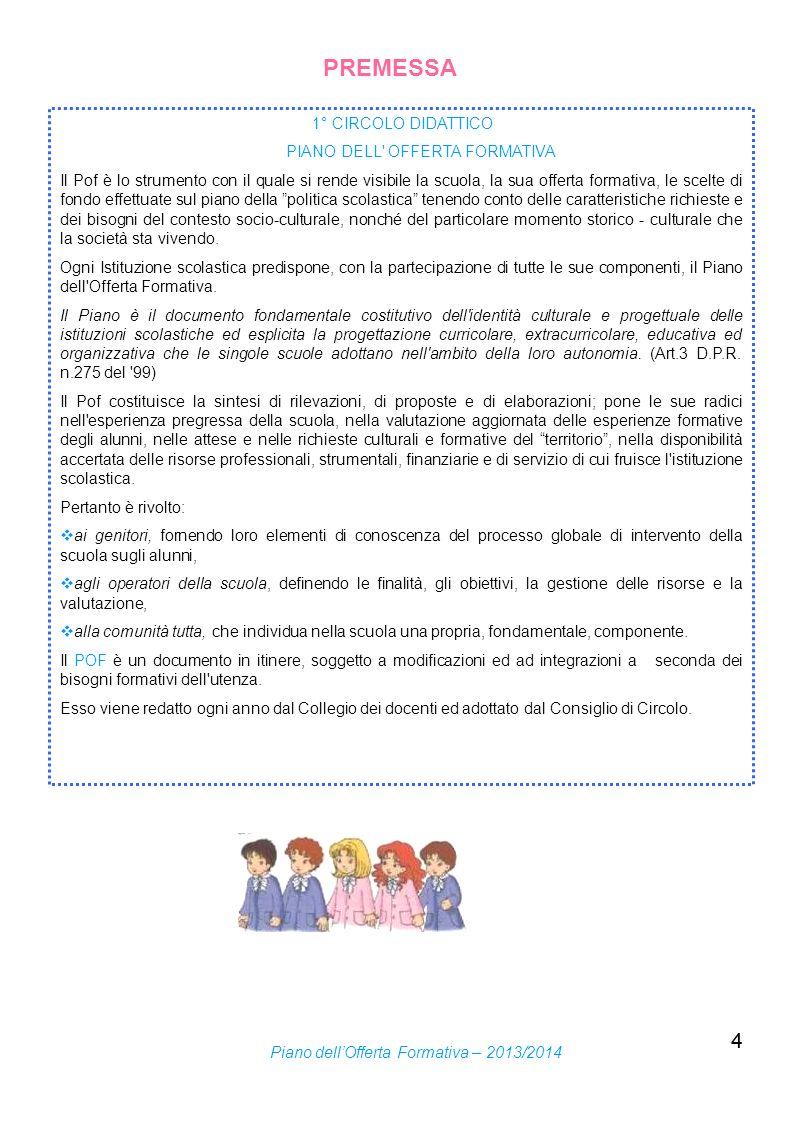 5 Il 1° Circolo di Marsciano comprende sedi di scuola dell infanzia e di scuola primaria situate nei Comuni di Marsciano e di Montecastello di Vibio.