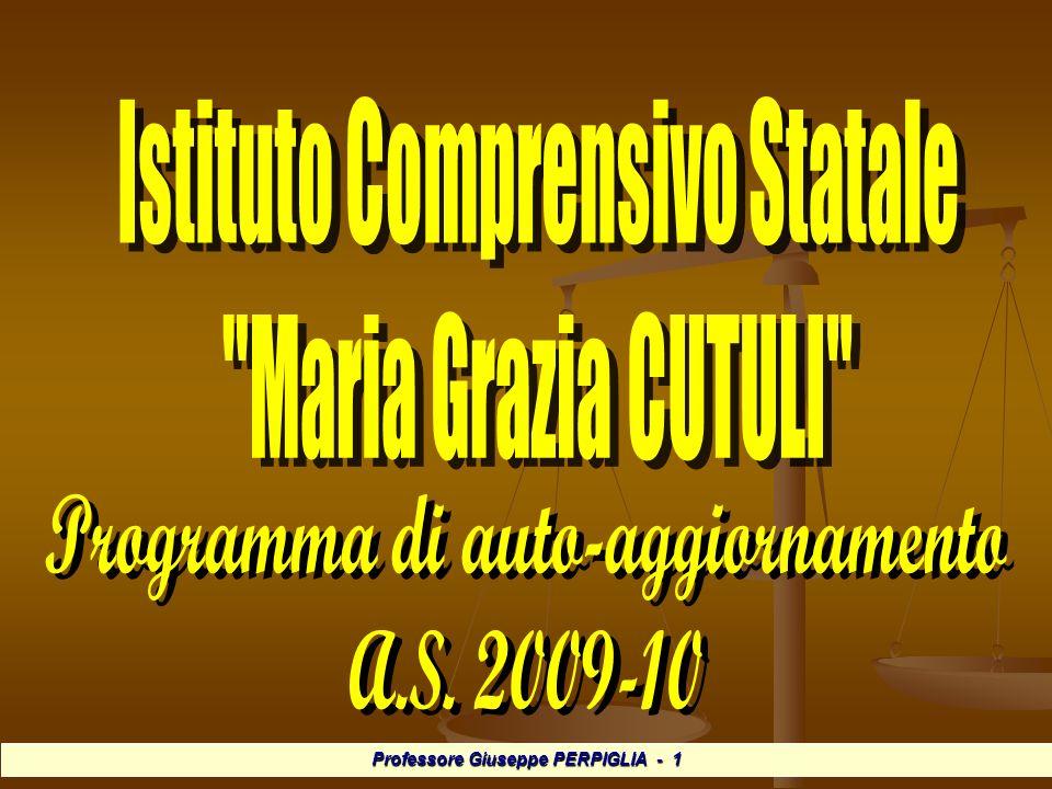 Professore Giuseppe PERPIGLIA - 12 Valutazione/Monitoraggio Analisi dei processi di realizzazione di unattività.