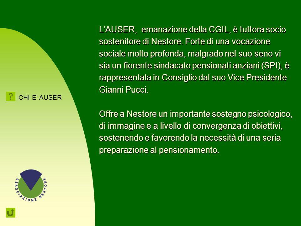 78 AUSER RisorsAnziani - ONLUS La solidarietà e la valorizzazione delle persone anziane LAuser è una associazione di volontariato e di promozione soci