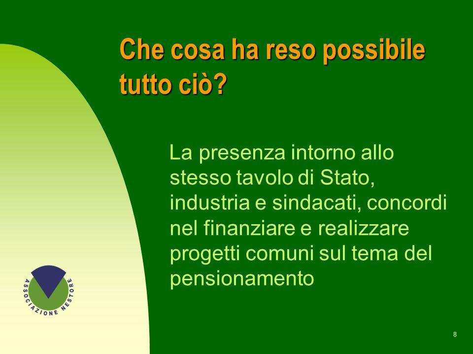 28 LE PRIME ATTIVITA n Corso FFN n Corso PPN a Milano e Torino n Traduzione del saggio La jubilacion, un enfoque positivo di R.