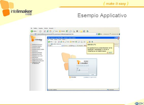 ( make it easy ) Esempio Applicativo