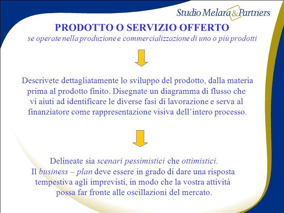 PRODOTTO O SERVIZIO OFFERTO se operate nella produzione e commercializzazione di uno o più prodotti Descrivete dettagliatamente lo sviluppo del prodot