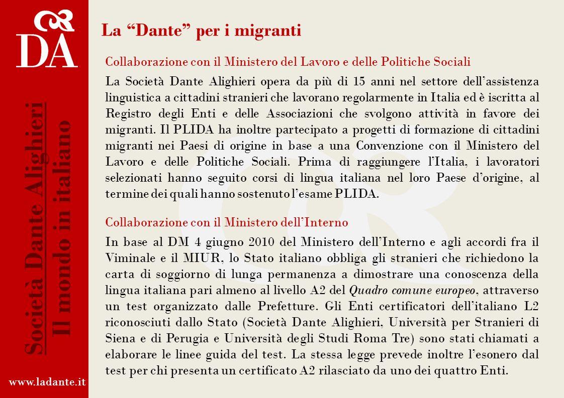 XI Convegno Internazionale dei gruppi giovanili della Società Dante Alighieri www.ladante.it Società Dante Alighieri Il mondo in italiano