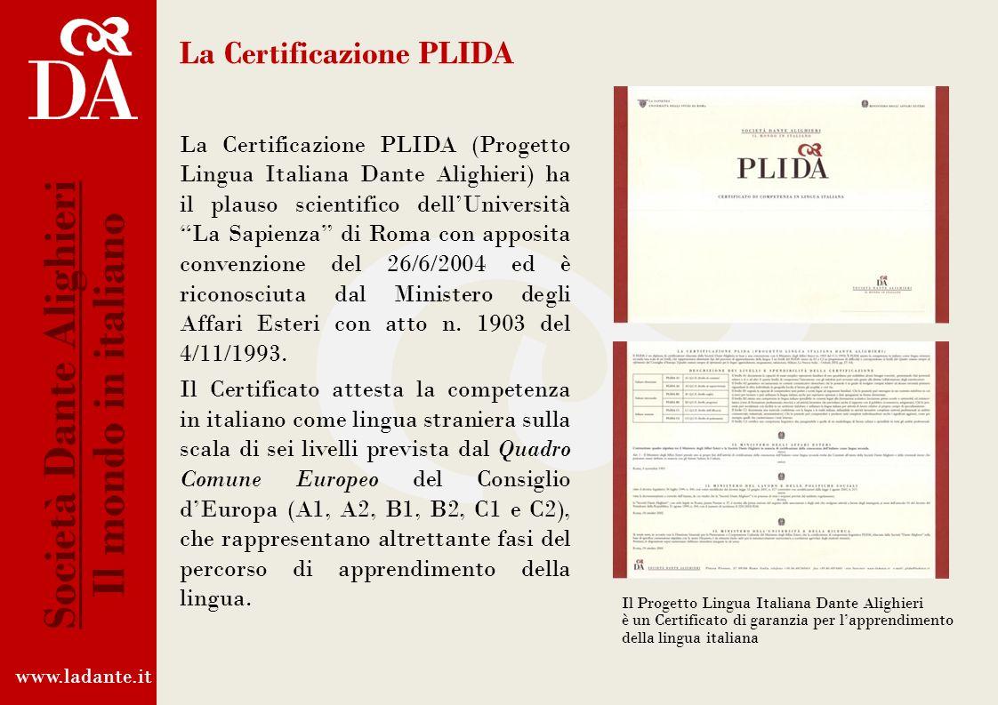 www.ladante.it Società Dante Alighieri Il mondo in italiano CLIQ ROMA, 6 FEBBRAIO 2013 COMUNICATO STAMPA DEL MINISTERO DEGLI AFFARI ESTERI Litaliano c