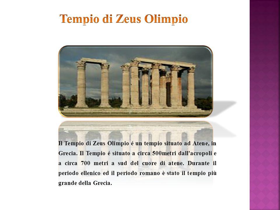 Il Tempio di Zeus Olimpio é un tempio situato ad Atene, in Grecia. Il Tempio é situato a circa 500metri dall'acropoli e a circa 700 metri a sud del cu