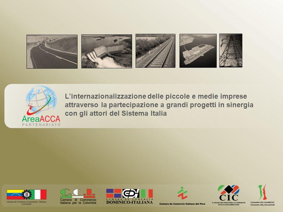 Linternazionalizzazione delle piccole e medie imprese attraverso la partecipazione a grandi progetti in sinergia con gli attori del Sistema Italia