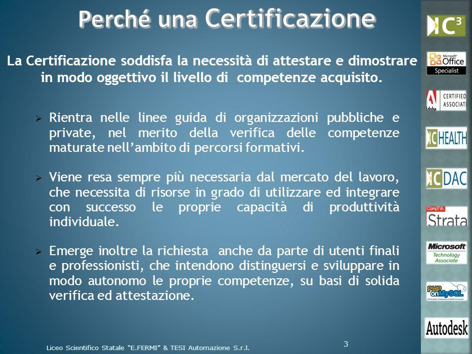È la Certificazione che fornisce ai Servizi Sanitari gli strumenti per la ridefinizione dei processi organizzativi e gestionali.