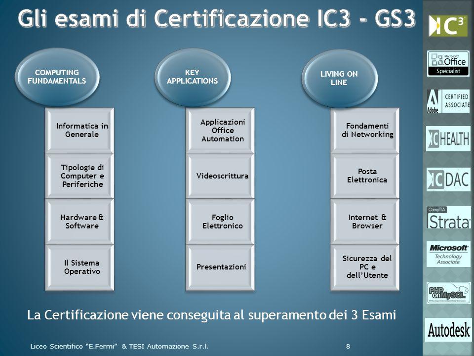 Liceo Scientifico E.Fermi & TESI Automazione S.r.l.