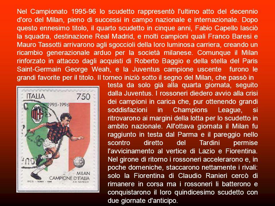 Nel 1958, da unidea di Umberto Agnelli, fu deciso di assegnare la Stella dOro al Merito Sportivo ai club che avessero conquistato il campionato di Ser