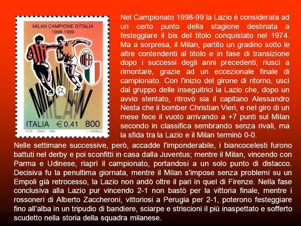 La Juventus di Marcello Lippi, già Campione d Europa e destinata anche a trionfare, nel corso della stagione, in Coppa Intercontinentale fece ritorno allo scudetto, in questo torneo molto equilibrato del 1996-97 con i nuovi acquisti Vieri e Zidane, pur partita con qualche prestazione opaca, si ritrovò in testa alla quarta giornata.