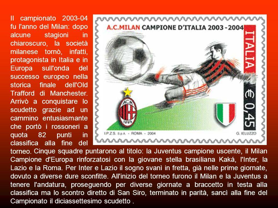 Nel 2001-02 si celebra il centesimo campionato di calcio italiano, il settantesimo giocato a girone unico in Serie A che somigliò a quello del 1967: c