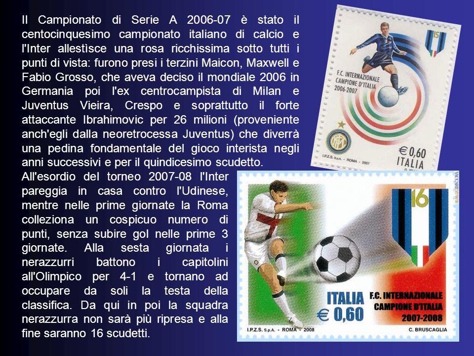 Il Campionato di Serie A 2005-06 fu il centoquattresimo campionato italiano di calcio e il settantaquattresimo a girone unico.
