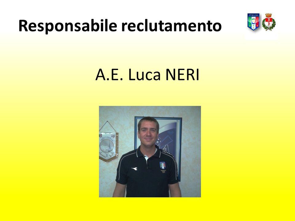 A.E. Luca NERI Responsabile reclutamento