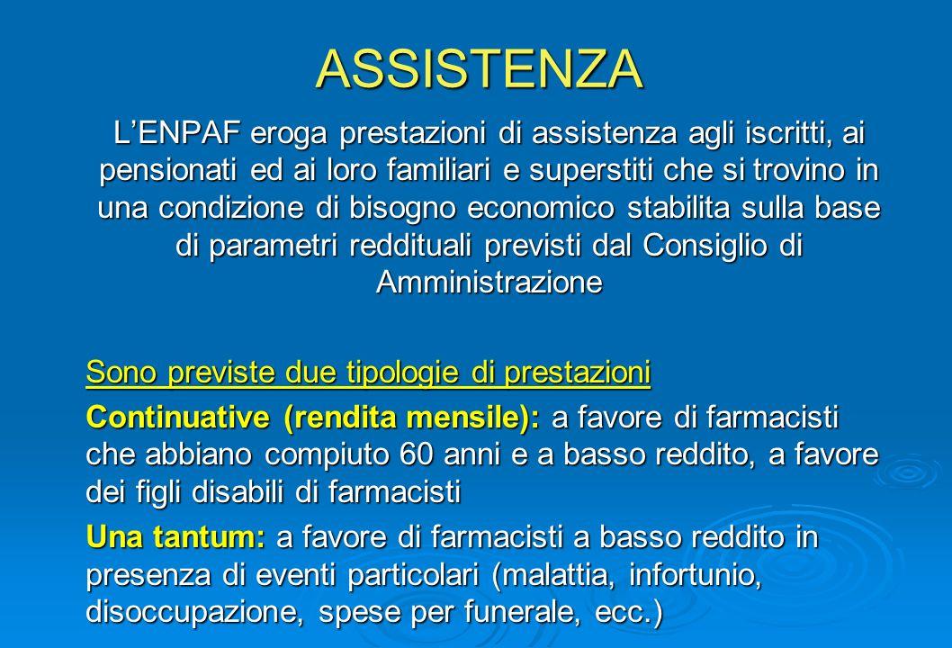 ASSISTENZA LENPAF eroga prestazioni di assistenza agli iscritti, ai pensionati ed ai loro familiari e superstiti che si trovino in una condizione di b