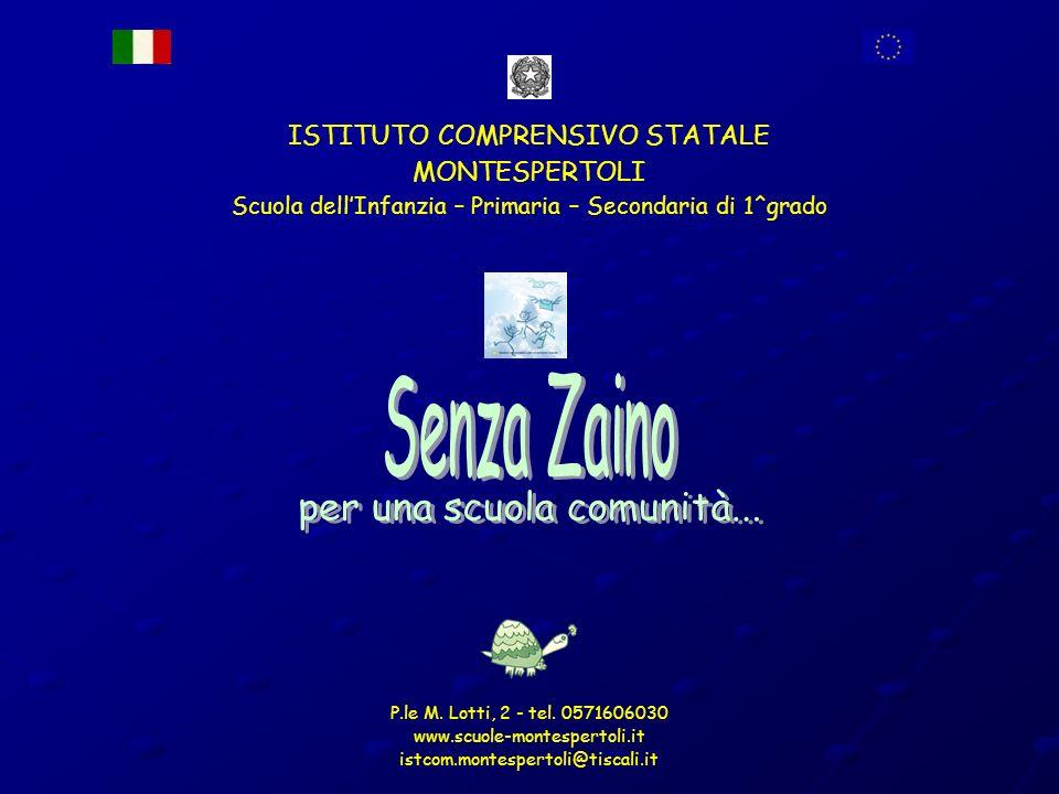 Nel progetto Senza Zaino laula entra a far parte a pieno titolo dellorganizzazione.