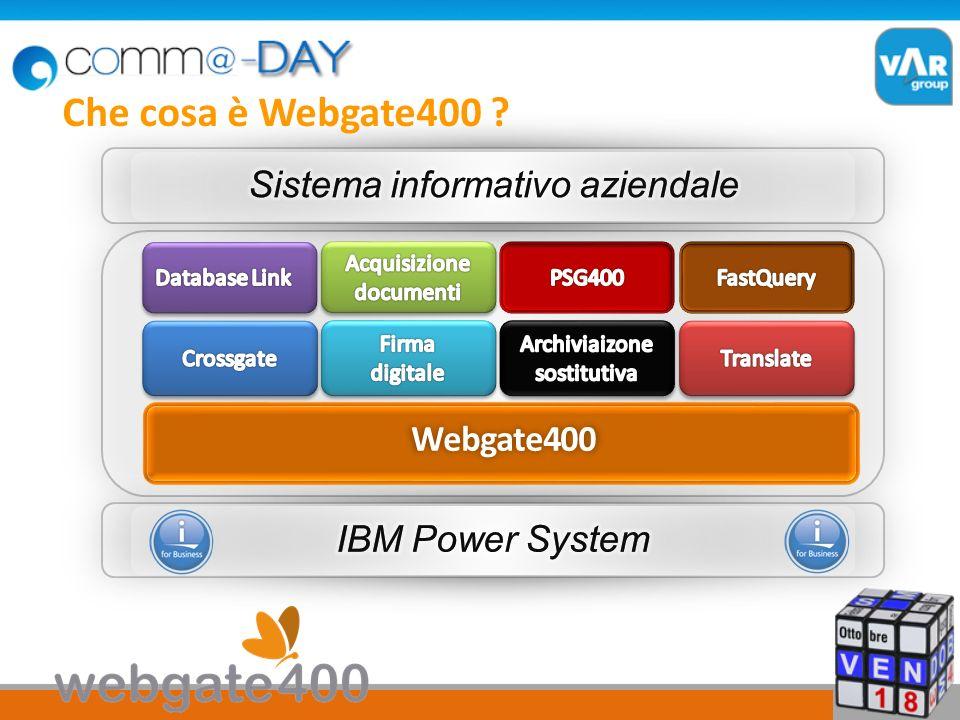 Webgate400 Che cosa è Webgate400 ?