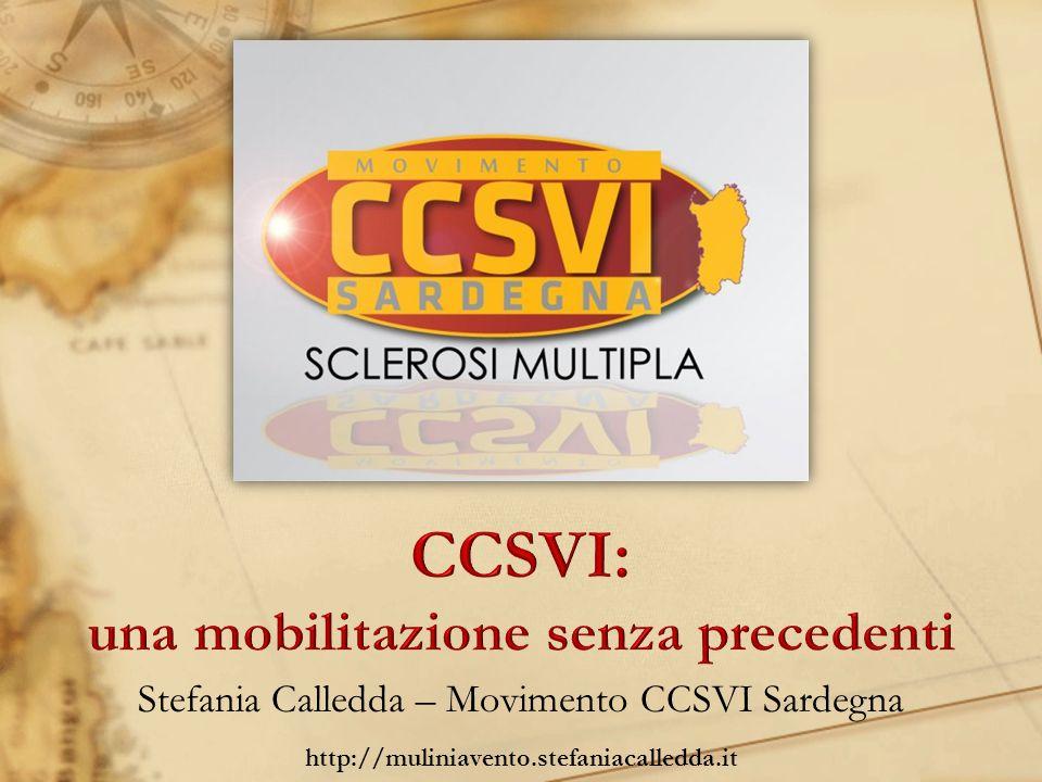 Stefania Calledda – Movimento CCSVI Sardegna http://muliniavento.stefaniacalledda.it