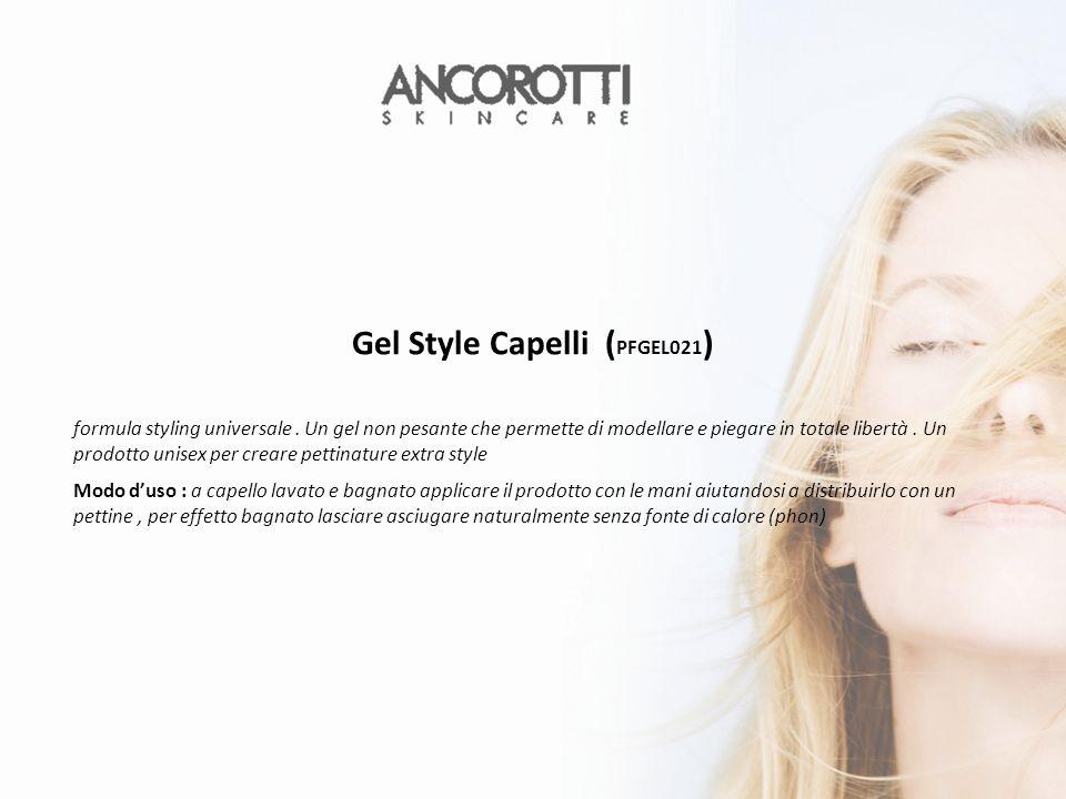 Gel Style Capelli ( PFGEL021 ) formula styling universale.
