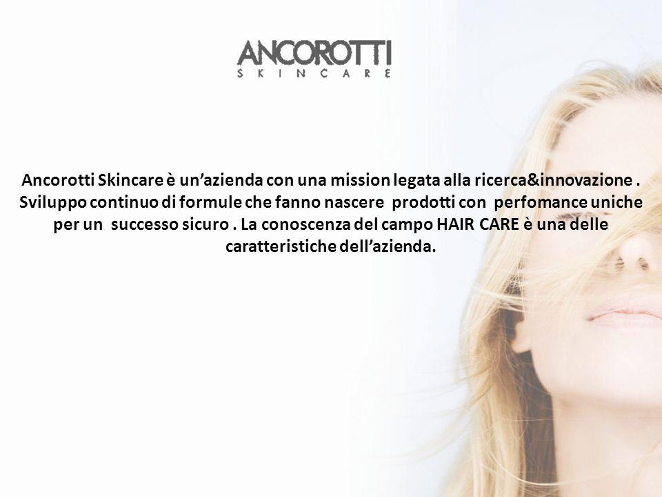 Ancorotti Skincare è unazienda con una mission legata alla ricerca&innovazione.