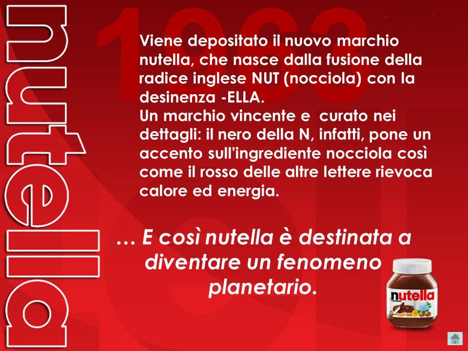 Storia 1945 1949 Il mastro pasticciere Pietro Ferrero inventa il Giandujot, l'antenato della nutella. L'artigiano piemontese crea un panetto da taglia
