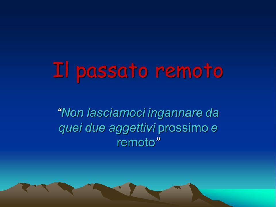 Uso NellItalia settentrionale è poco usato: nel parlar comune è preferito il passato prossimo.