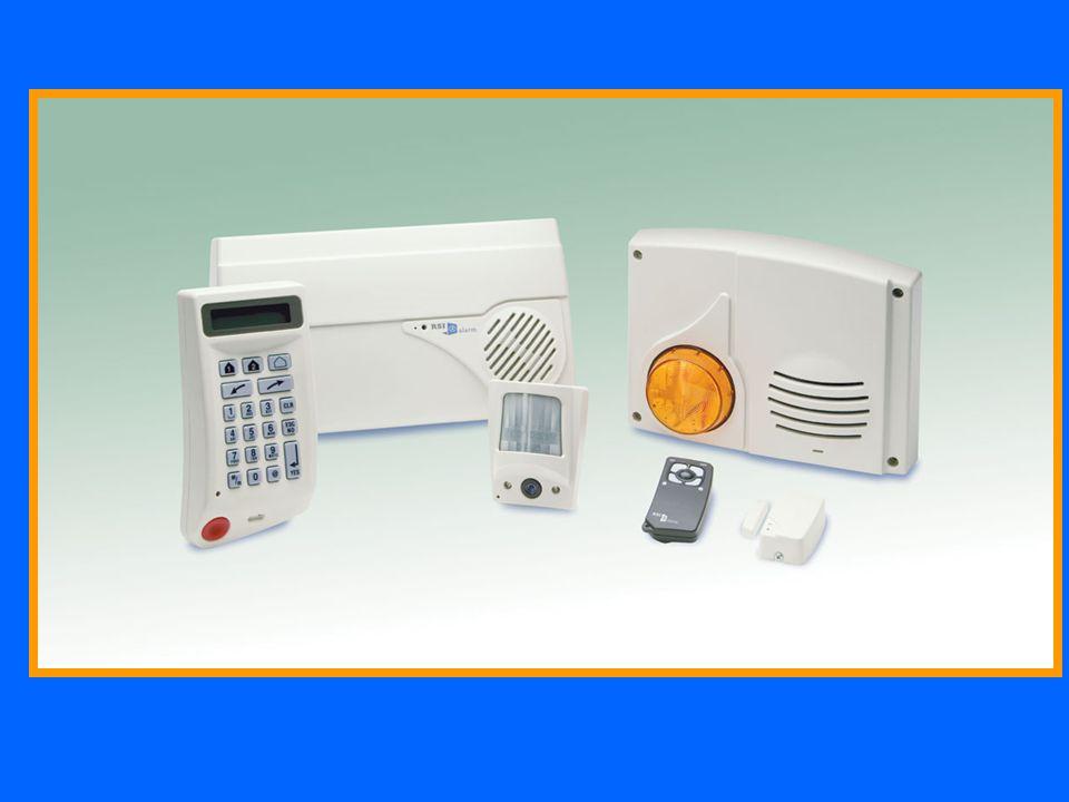 SE550 Sirena via radio bidirezionale con lampeggiatore per esterno per centrali DOMOGUARD e VISIOGUARD.