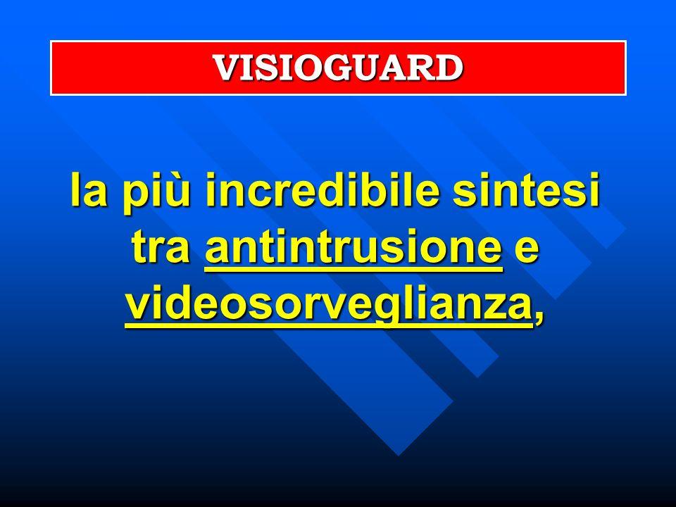 VISIOGUARD la più incredibile sintesi tra antintrusione e videosorveglianza,