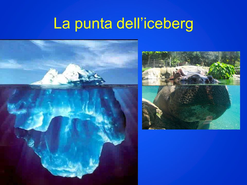 La punta delliceberg