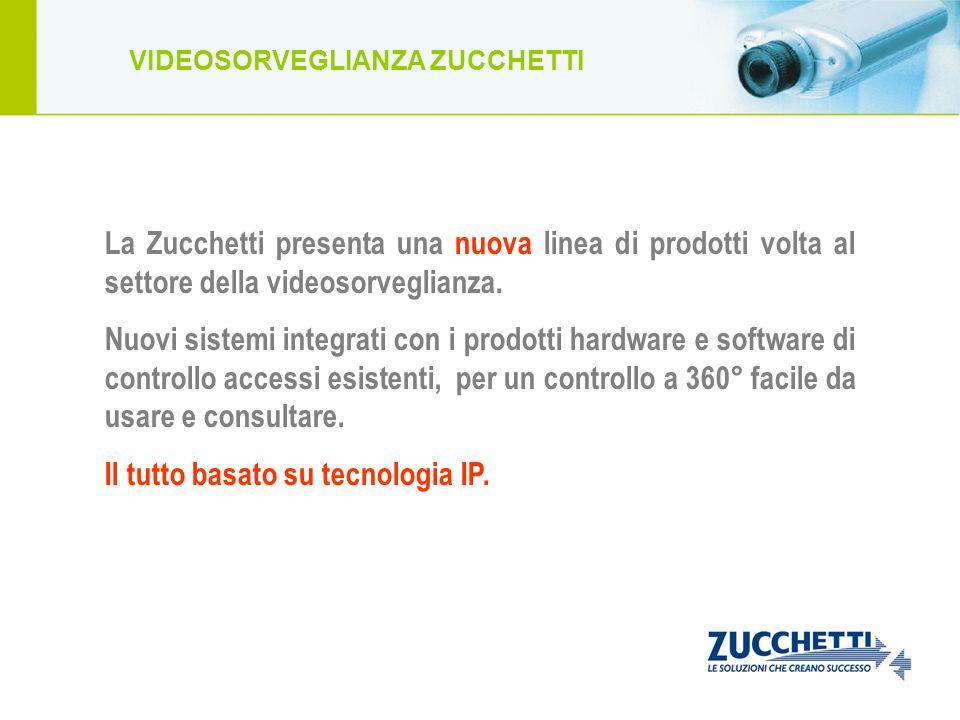 La Zucchetti presenta una nuova linea di prodotti volta al settore della videosorveglianza. Nuovi sistemi integrati con i prodotti hardware e software