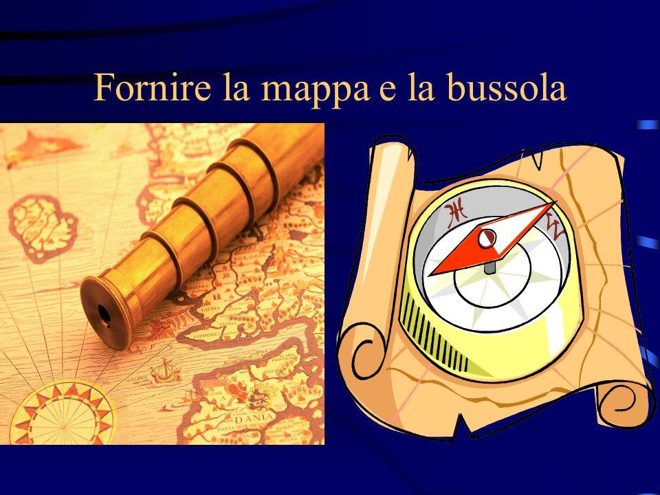 Fornire la mappa e la bussola