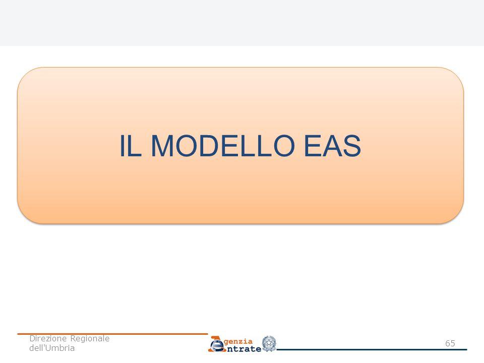 65 IL MODELLO EAS Direzione Regionale dell'Umbria