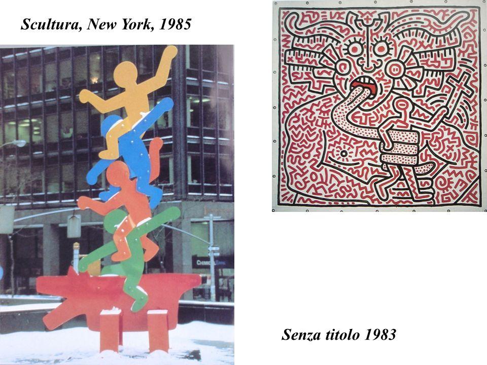 Senza titolo 1983 Scultura, New York, 1985