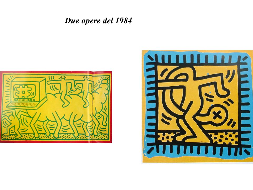 Due opere del 1984
