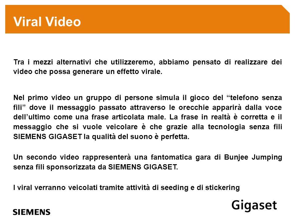 Tra i mezzi alternativi che utilizzeremo, abbiamo pensato di realizzare dei video che possa generare un effetto virale. Nel primo video un gruppo di p