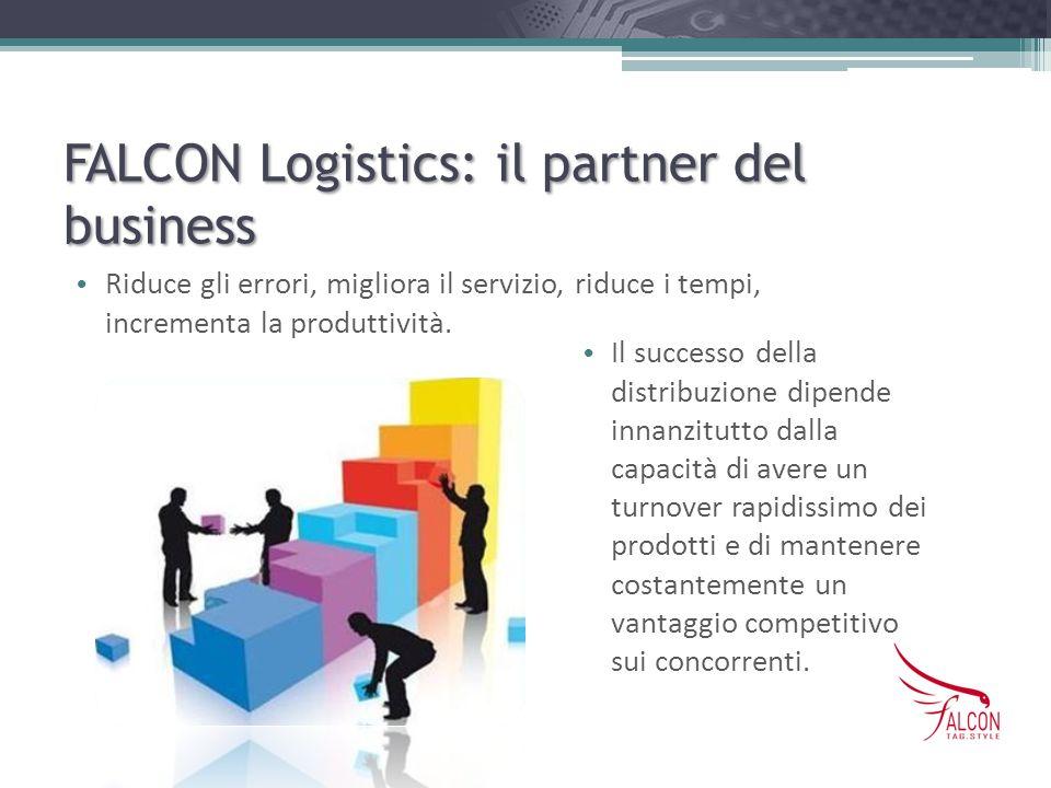 FALCON Logistics: il partner del business Riduce gli errori, migliora il servizio, riduce i tempi, incrementa la produttività. Il successo della distr