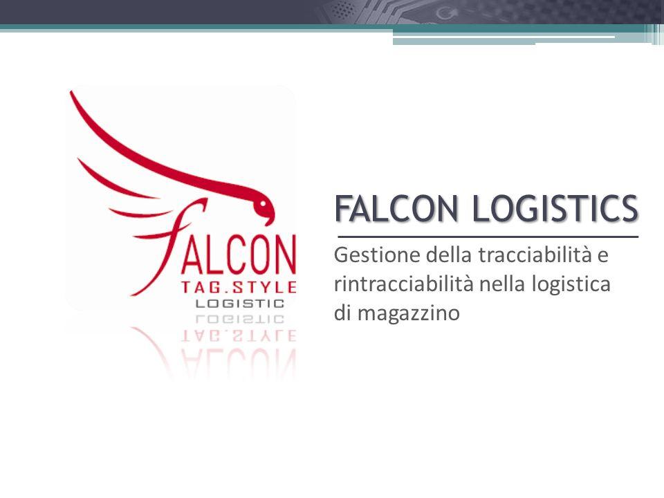 FALCON Logistics FALCON Logistics consente alle aziende di sfruttare tutti i vantaggi di efficienza ed efficacia derivanti dal miglioramento dei processi in termini di tempo e qualità.