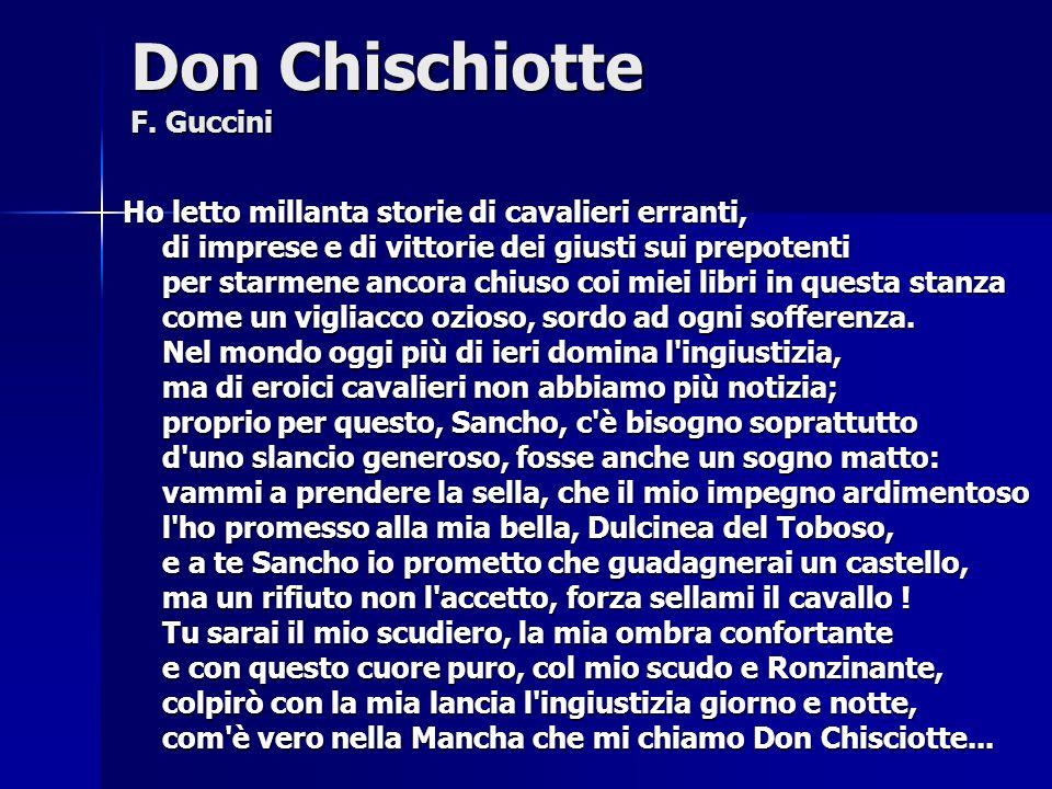 Don Chischiotte F.
