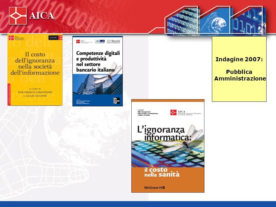 Indagine 2007: Pubblica Amministrazione