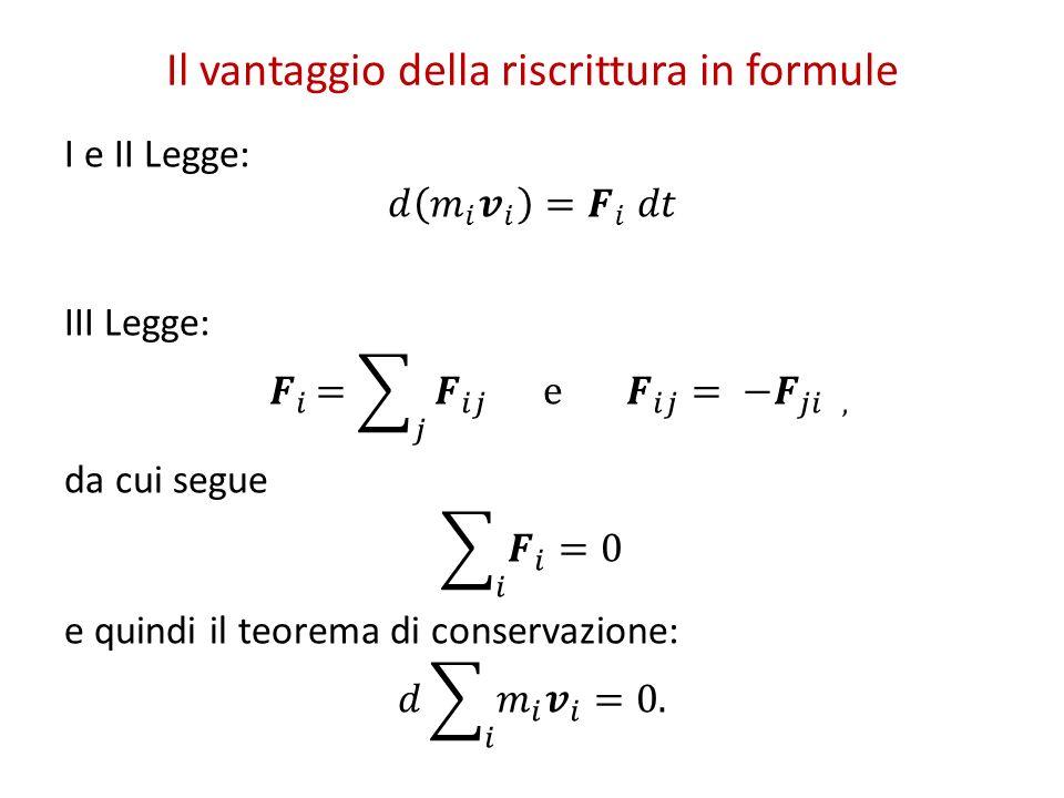 Il vantaggio della riscrittura in formule