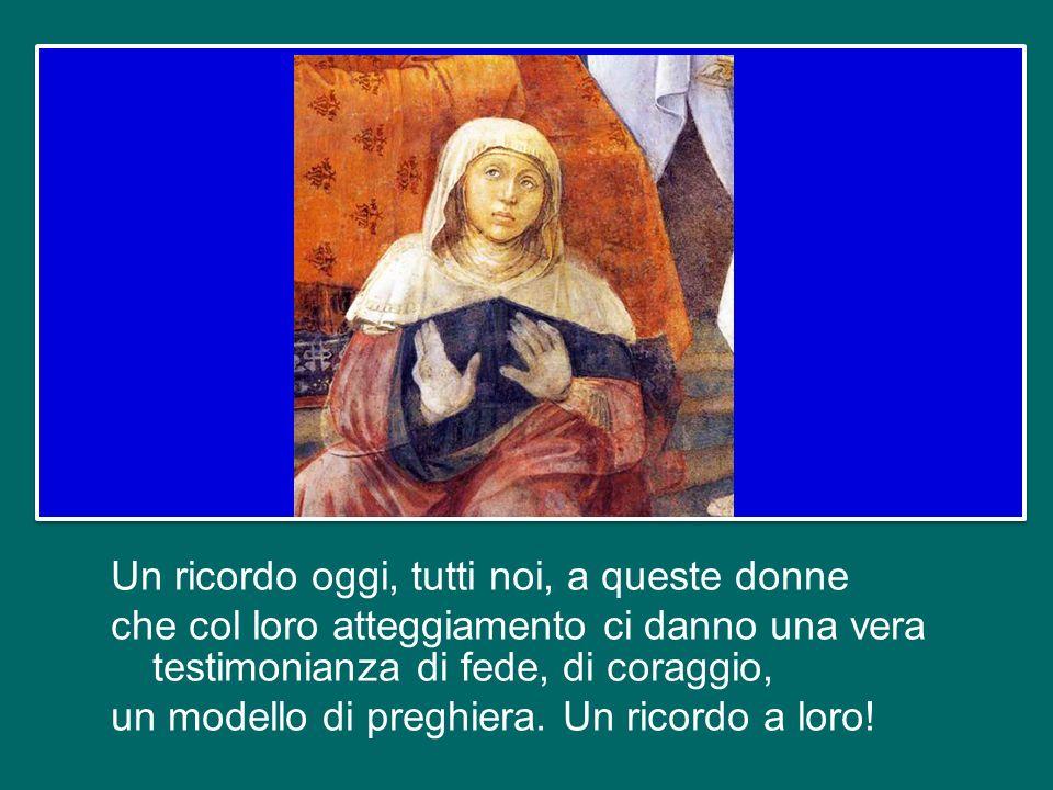 Impariamo dunque dalla vedova del Vangelo a pregare sempre, senza stancarci. Era brava questa vedova! Sapeva lottare per i suoi figli! E penso a tante